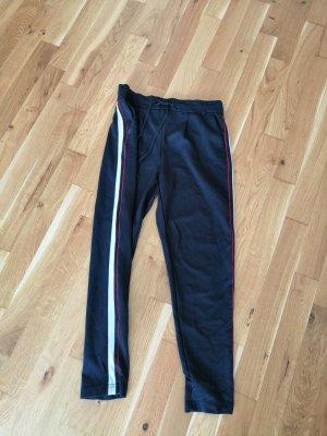 Only Stoffen broek donkerblauw