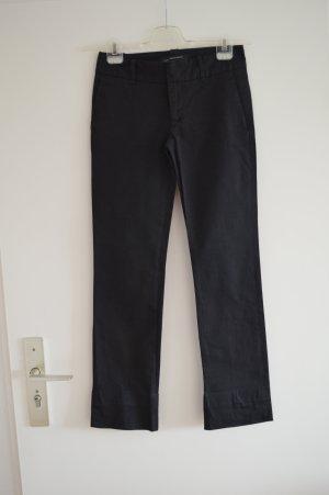 Zara Lage taille broek zwart Katoen