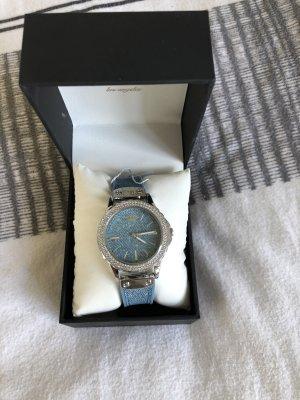 Juicy Couture Reloj digital azul-color plata