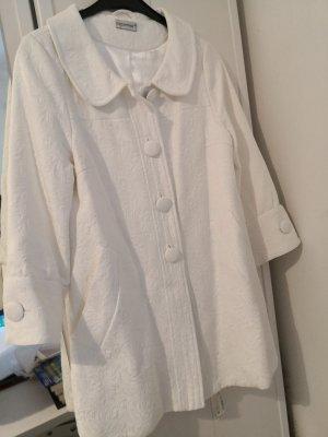 C&A Clockhouse Short Coat white cotton