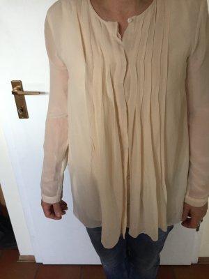 Claudia Obert Long Sleeve Blouse cream-natural white viscose