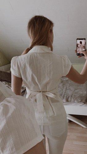 Colletto camicia bianco sporco