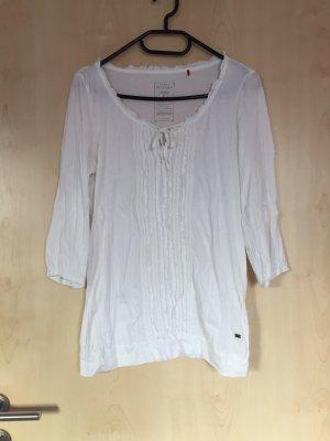 Schicke, weiße Bluse