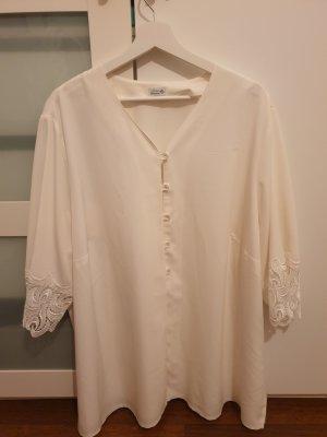 Atelier Goldner Schnitt Blusa trasparente bianco