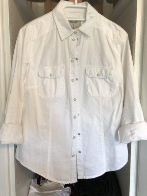 Schicke weiße Bluse/Hemd