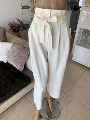 H&M Pantalone culotte bianco sporco