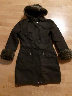 Wellensteyn Manteau d'hiver brun noir