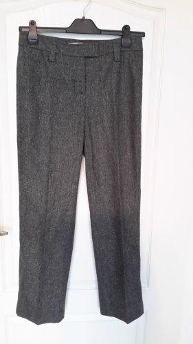 Gardeur Pantalone a 7/8 bianco-nero Lana