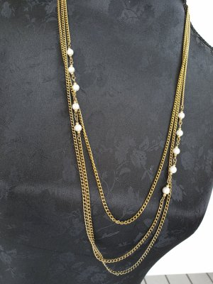Retro Kette Gold Chain gold-colored-oatmeal