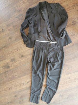 Vera Moda Tailleur-pantalon gris foncé-gris anthracite