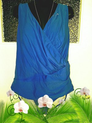 bpc selection Costume da bagno blu scuro-blu