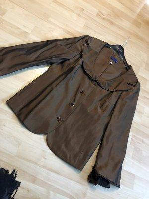 Ricarda M Long Blazer brown-bronze-colored