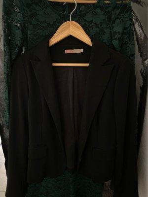 Saint Tropez Klassischer Blazer noir