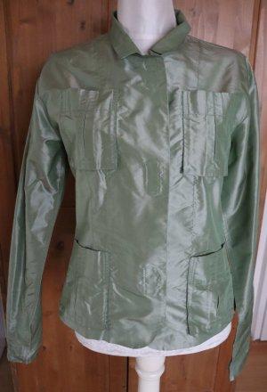 Schicker Blazer in grün aus Seide Uli Schneider