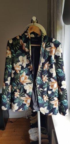 Schicker Blazer Jacke mit Blumenprint