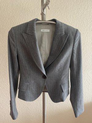 René Lezard Blazer corto grigio chiaro-grigio