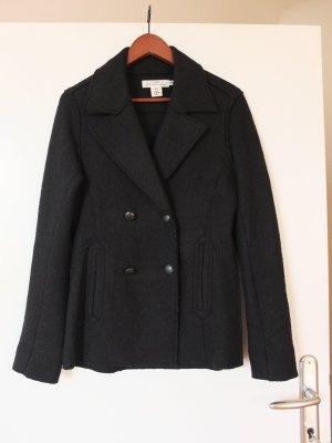 H&M L.O.G.G. Wool Blazer black viscose