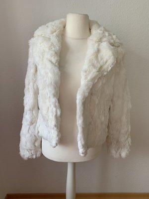 Jennifer Taylor Pelt Jacket white