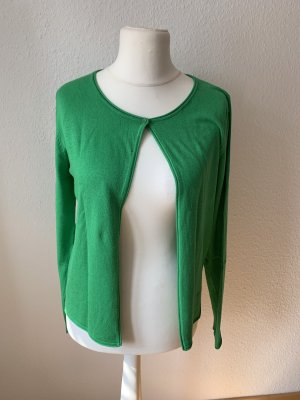 Schicker grasgrüner Cardigan Größe M