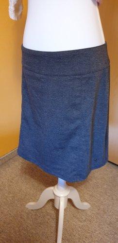 Schicker graumelierter Bürorock von Zero, Größe 42, ungetragen