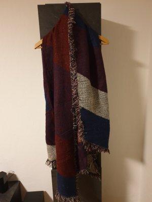 New Yorker Bufanda de lana multicolor