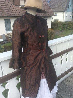 Almatrichi Trench Coat dark brown