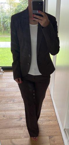 WE Tailleur-pantalon brun noir