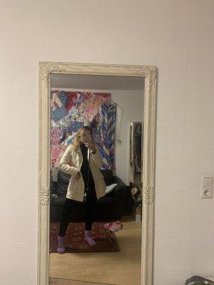 Gracia Manteau en laine blanc-blanc cassé