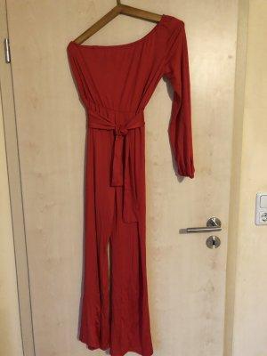 no name Tailleur pantalone rosso Poliestere