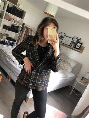 Zara Blazer boyfriend kaki-rouge foncé