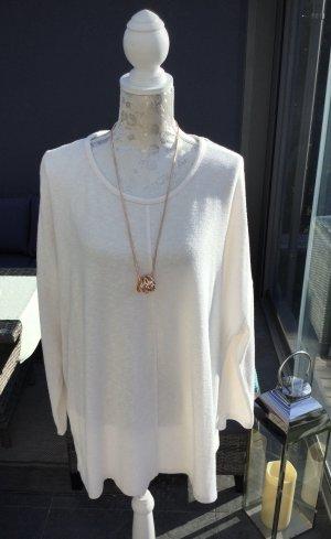 100% Fashion Lange jumper licht beige-room