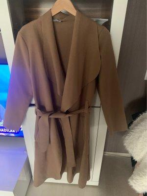 Mim Giacca lunga color cammello