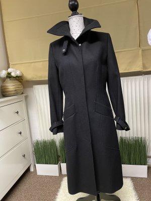 Marynarski płaszcz czarny