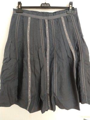 Falda de lino multicolor