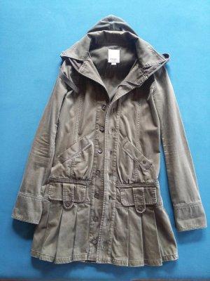Schicker Military Mantel mit Kapuze von Diesel