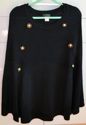 Creation L. Crewneck Sweater dark blue-neon yellow polyacrylic