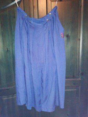 Folkloristische rok blauw