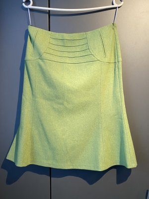 Strenesse Pencil Skirt grass green wool