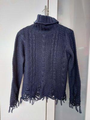 Deby Debo Sweter niebieski-ciemnoniebieski