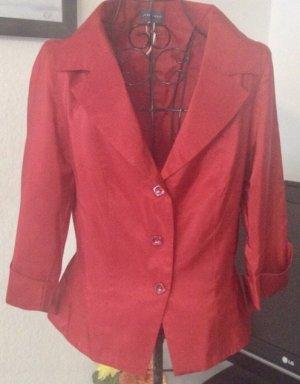 Adagio Blazer court rouge