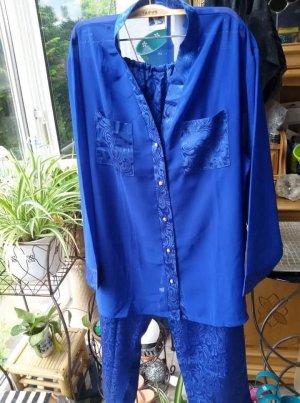 Camicia da notte blu