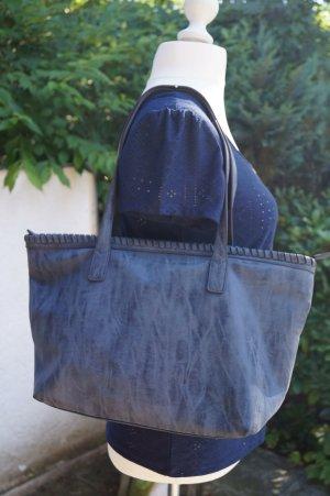 Schicker Schopper Tasche Bag jeansblau