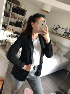 Pimkie Leather Blazer black