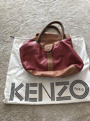 Kenzo Shopper pink-dusky pink leather