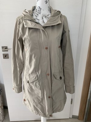 Luhta Płaszcz z kapturem jasnobeżowy