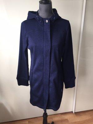 Tchibo / TCM Cappotto in pile blu scuro