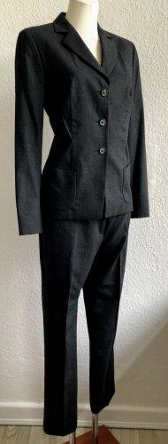 Schicker Windsor Stretch Anzug Gr.38/40 Wolle/Elasthan anthrazit neuwertig