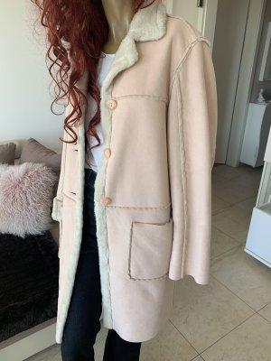 Apart Impressions Manteau en cuir multicolore