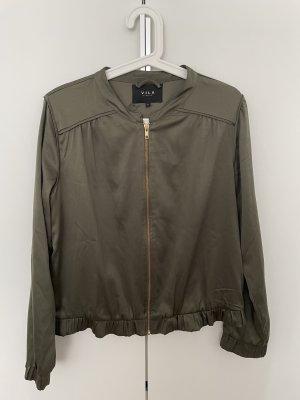 Vila Bomber Jacket green grey-olive green