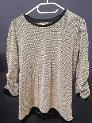 Schickeres dunkelblaues Sweatshirt mit kleinen Punkten